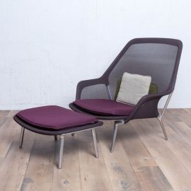 Vitra Slow Chair mit Ottoman